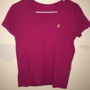 Pink Polo T-Shirt